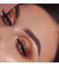 Huda Beauty Makeup Goals, Makeup Inspo, Beauty Makeup, Eye Makeup, Hair Makeup, Hair Beauty, Glamour Makeup, Coral Eyeshadow, Eyeshadow Looks