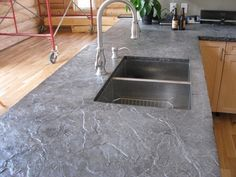 Poured Concrete Countertops | Concrete Countertop Ideas and Examples – Part 1 of 2 Pictures