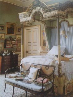 the Duchess room at Chatsworth