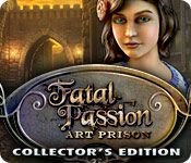 Fatal Passion: Art Prison Collector's Edition - http://www.allgamesfree.com/fatal-passion-art-prison-collectors-edition/    One man's art is another man's prison. An eccentric artist's creations have sprung to life, and they're terrorizing a small town. And it just happens to be the day the love of his life marries another man. Can you beat the painted traps and find the missing bride and groom in this exciting new...