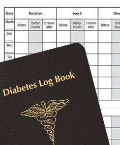 diabetes blood sugar logs