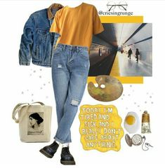 Supply : Lou Catero - Grunge Look Guide. Source by tinythickgirl outfits grunge Grunge Look, Mode Grunge, Mode Outfits, Grunge Outfits, School Outfits, Casual Outfits, 90s Fashion, Korean Fashion, Fashion Outfits