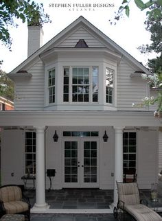 Houses With Bay Windows traditional box bay window design, pictures, remodel, decor and