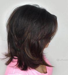 Shoulder Length Layered Haircut