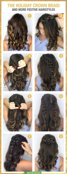 The Perfect Holiday Hair Style for any Party!