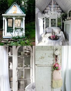 I just want this magical en beautiful victorian cottage... I do I do I do!