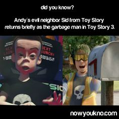 Yes, I did know this. Pixar even hired the same kid (well, adult now) to do the voice in TS3.