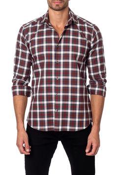Long Sleeve Trim Fit Shirt