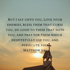 Love Your Enemies, I Said, Bible Verses, Pray, Hate, Blessed, Sayings, Movie Posters, Lyrics