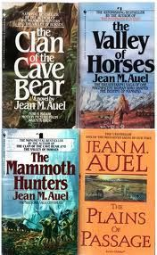 Clan of the Cave Bear Series by Jean M. Auel Brilliant set of books ... loved them !
