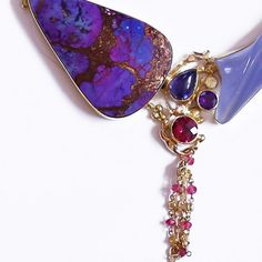 """The Kalled Gallery — """"Deep Purple"""" Necklace"""