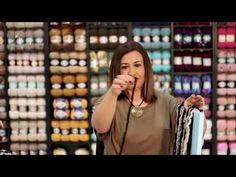 Alize Fashion Boucle ile Dokuma Tekniği - YouTube