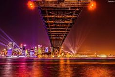 """#VividCanon Shot of the Day by @sbpicworx 'The hardest thing in life is to decide which bridge to cross and which bridge to burn @vividsydney 2017. It looks spectacular this year. Shot Notes: EOS 600D with a 17-50mm Lens ISO 100 