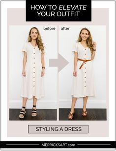 Basic Outfits, Modest Outfits, Summer Outfits, Stylish Outfits, Everyday Dresses, Everyday Outfits, How To Wear Belts, Fashion Advice, Fashion Outfits