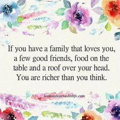Richer than you think