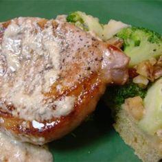 Pork Chops with Blue Cheese Gravy - Allrecipes.com