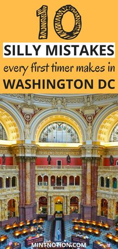 Visiting Washington DC for the first time? Avoid making these silly tourist mistakes. Use these tips to help you enjoy your trip to Washington DC on a budget. See all the top attractions and save money on sightseeing. Viaje A Washington Dc, Washington Dc Vacation, Washington Dc With Kids, Visit Washington Dc, Washington Dc Attractions, East Coast Travel, East Coast Road Trip, Road Trip Usa, Baltimore