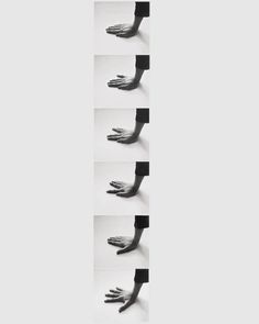 Àngels Ribé 'Six Possibilities of Occupying a Given Space' 1973.