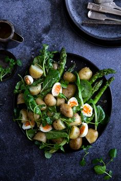 Jersey Royals   A Recipe — borrowedlight Borrowed Light, Warm Salad, Spring Is Here, Do You Know What, Spring Recipes, Spring Food, Potatoes, Vegetables, Royals