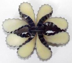 Vintage Button Fabulous Large Celluloid Cactus Like