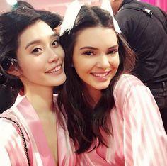 Les coulisses beauté du défilé Victoria's Secret avec Ming Xi et Kendall Jenner