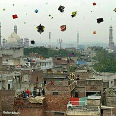 Awesome Basant ceremony at Lahore Punjab Pakistan