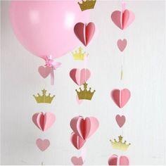 Guirlande de décoration dorée et autre couleur au choix pour anniversaire 1 an : Autres bébé par crystal-creations