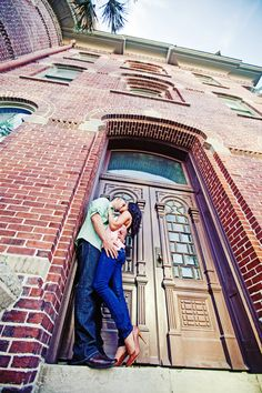 Charlyne & Ryan's Engagement Shoot at the University of Tampa | Concept Photography