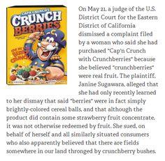 Cap'n Crunch lawsuit