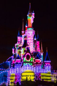 Disneyland paris- on my bucket list to see every Disney!!!!