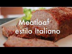 Pastel de carne Meatloaf al estilo Italiano - Recetas para Navidad