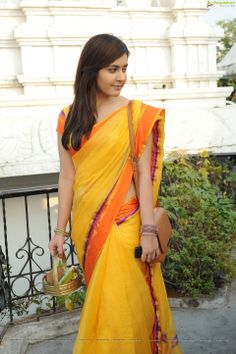 Gosh!! Such a pretty sari! south cotton sari with border in bright colors! stylish daily look for teachers and working ladies! Indian ethnic wear
