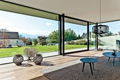 CP 130 - Heve-skyvedør for fasade - Lyse Rom Aluminium Sliding Doors, Sliding Door Systems, Sliding Patio Doors, Casa Loft, Up House, Glass House, Windows And Doors, Ceiling Windows, Modern Architecture