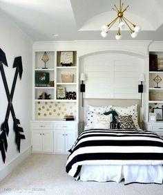 BLACK AND WHITE BEDROOM DECOR IDEAS - Wonder Cottage