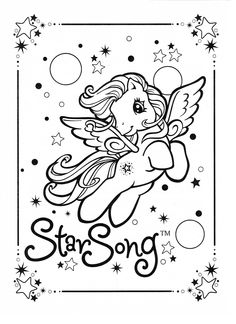 My Little Pony coloring page MLP - Star Song