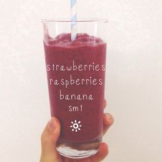 Berrie smoothie recipe #smoothies #recipe #healthy