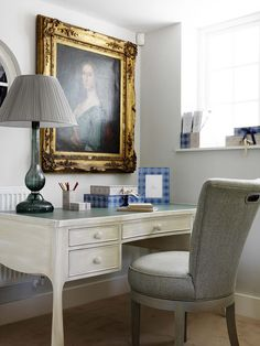Dickie Desk and Evelyn Chair
