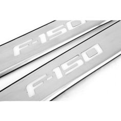 LED Door Sill Scuff Plate Guard For Ford F-150 09-14 4 light Stainless Steel USA