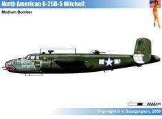 North American B-25D-5 Mitchell