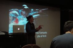 Marine Biologist Shanti Davis gave a briefing on the importance of understanding and preserving Krill 7 Continents, Biologist, Antarctica, Ocean, Life, The Ocean, Sea