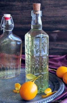 Homemade Meyer Limoncello!