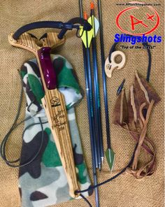 """LEVER BOW """"Apex edition"""" in exotic Leopard and Purple Heart woods. Diy Slingshot, Sling Bow, Purple Heart Wood, Traditional Bow, Homemade Weapons, World Crafts, Bow Arrows, Catapult, Survival Tools"""