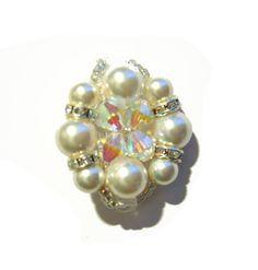 Diagrama de cuentas N º anillo d, Pearl anillos, Patrones (gratis)