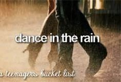 why wait for the storm to pass where you can just dance in the rain!!!!! #happyDancing