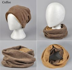 Multifunctional Snood Scarf and Beanie