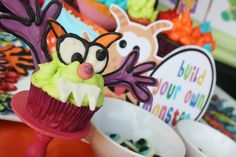Colorful Monster Bash Party - Kara's Party Ideas - The Place for All Things Party