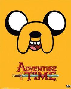 Adventure Time - Jake Poster - 50x40cm @ niftywarehouse.com #NiftyWarehouse #AdventureTime #TVShow #Cartoon #Show #CartoonNetwork