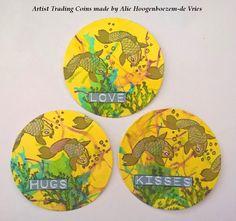 Artist Trading Coins | Made by Alie Hoogenboezem-de Vries