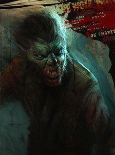 The Wolfman by Eduardo Schaal