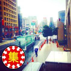 雨の西新宿、青梅街道。  #西新宿   #青梅街道   #Tokyo